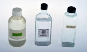 salinity bottles
