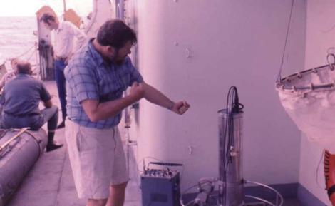 Neil Brown adjusting his CTD